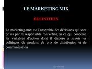 marketing mix 4