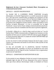 reglement jeufacebook lucascarton 2014