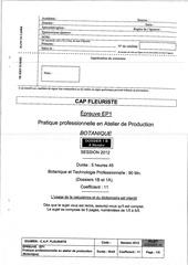 Fichier PDF sujet botanique 2012