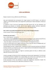 lettre s g aux adherents 14 04 2014