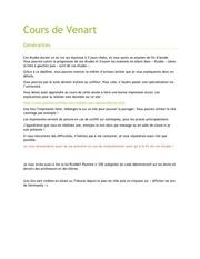 Fichier PDF cours de venart
