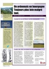 un ardennais en bourgogne journal mensuel avril 2014