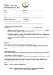 fiche inscription freewheels