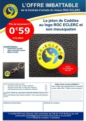 offre imbattable jetons caddies 2014