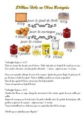 Fichier PDF tarte au citron