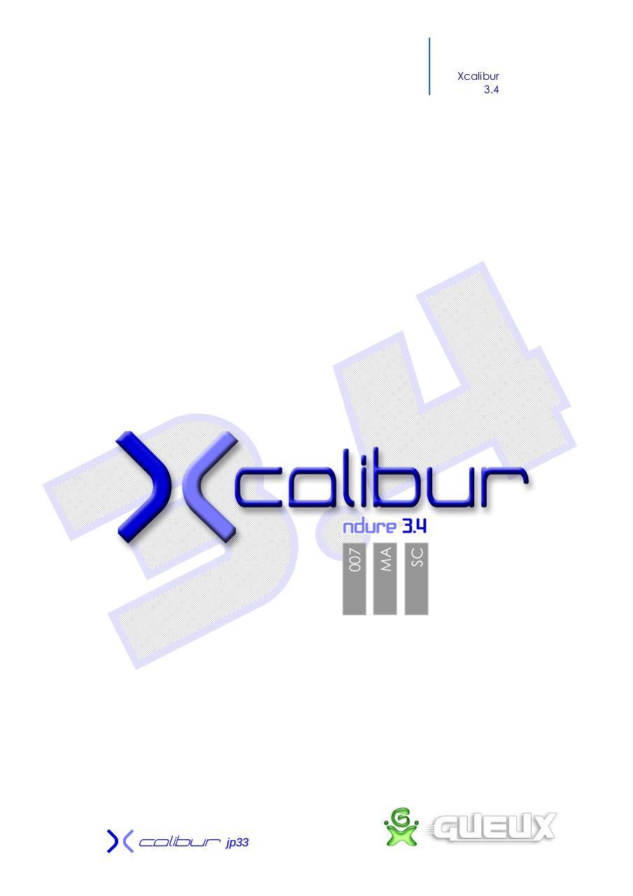 CD DE TÉLÉCHARGER JP33 XCALIBUR