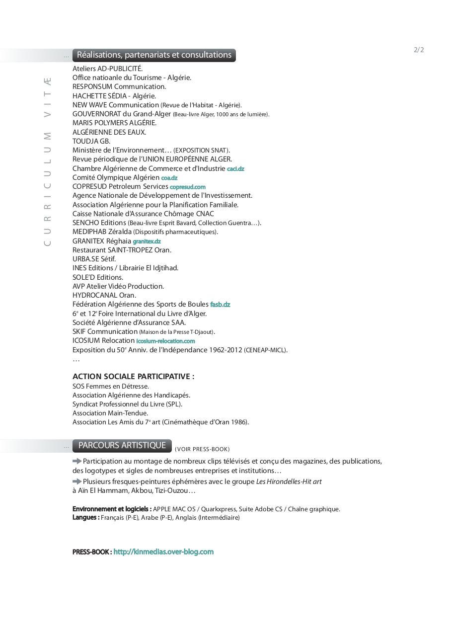 mise en page 1 - cv mohammed touaoula 2013 pdf
