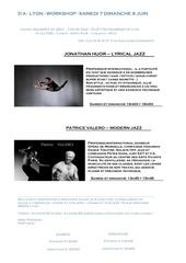 Fichier PDF danse stage