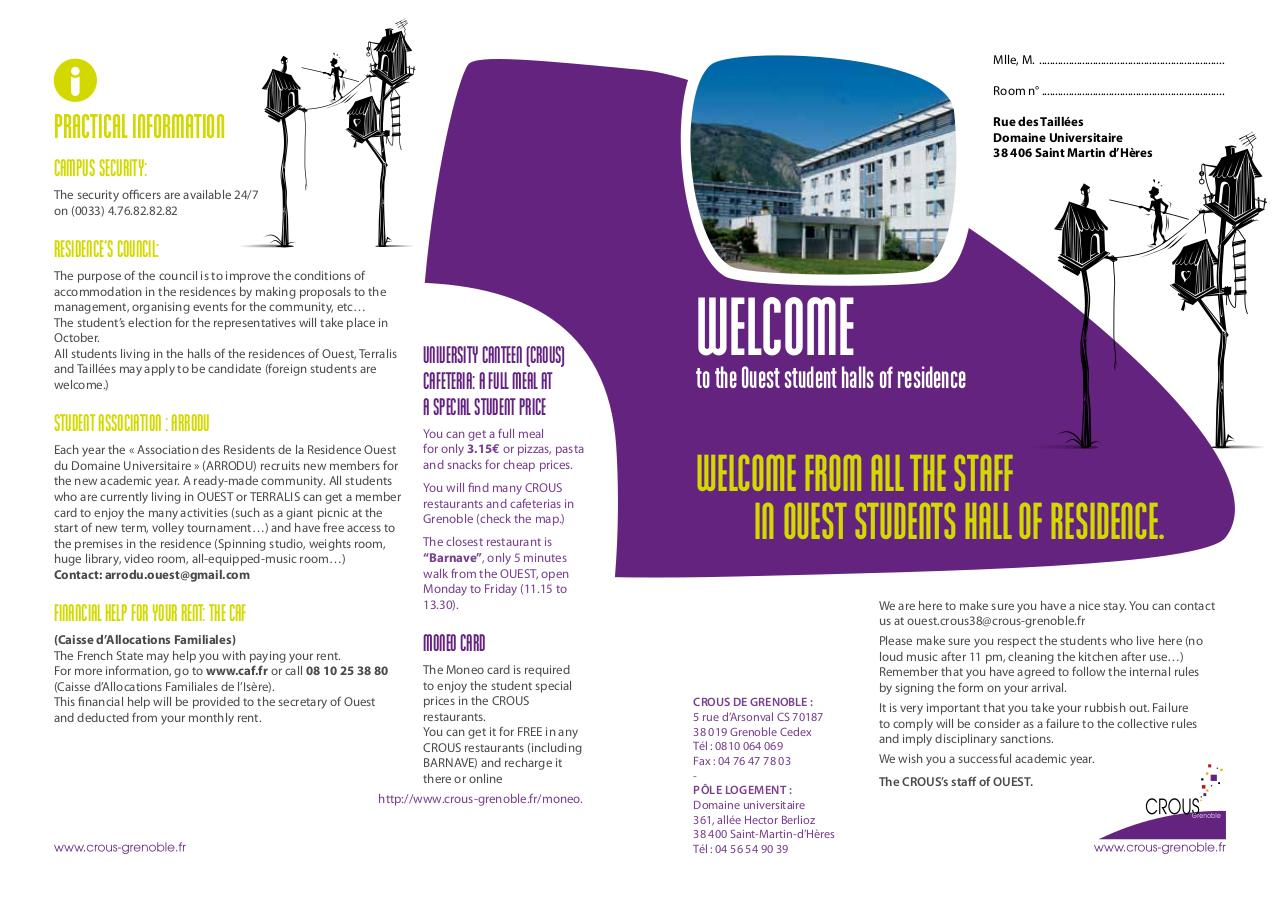 introduction to RESIDENCE OUEST english version.pdf - page 1/2