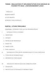 Fichier PDF projet