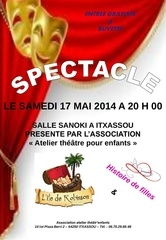 affiche spectacle mai 2014