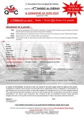 inscription rando du cheran 2014 n a pdf