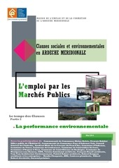recueil clause environnementale