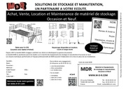mdr solutions de stockage et manutention