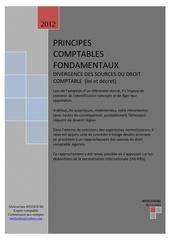 principes comptables fondamentaux synthese