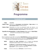 programme slo complet