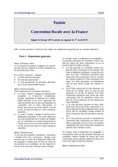 tunisie conv fisc france