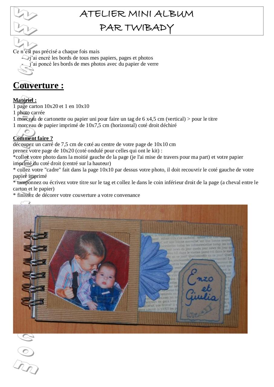 Aperçu du document ATELIER MINI ALBUM.pdf - page 1/8