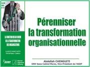 perenniser la transformat organisationnelle