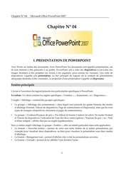 Fichier PDF power point 2007