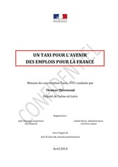 rapport thomas thevenoud mission taxi vtc 23 04 2014 2