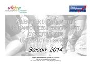 calendrier des randonnees ufolep 2014