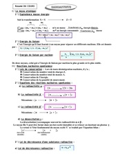 Fichier PDF resume radioactivite