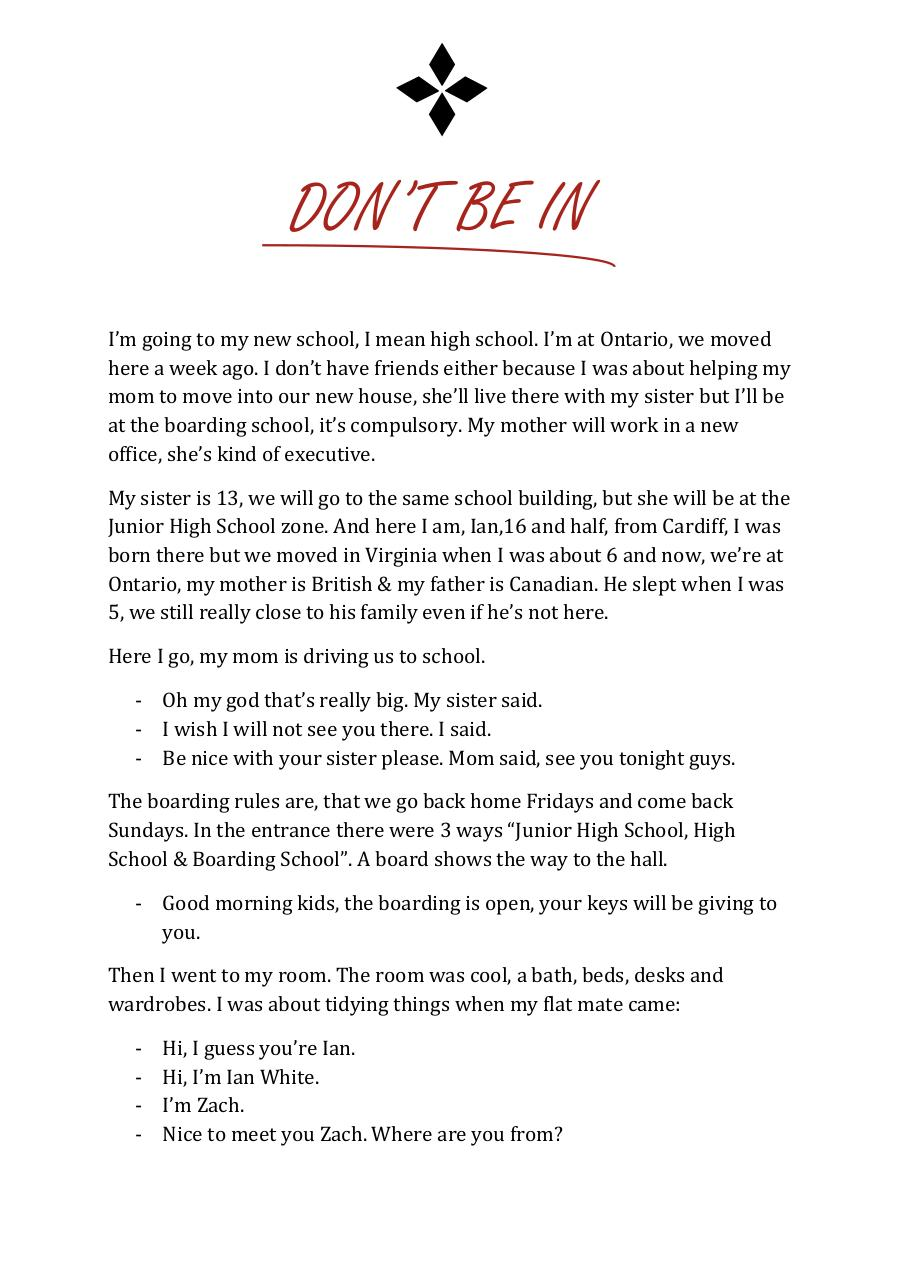 Don't be in.pdf - page 3/45