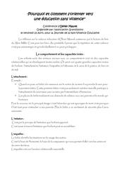 resume conference olivier maurel