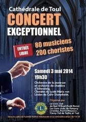 concert lions 3 mai 2014