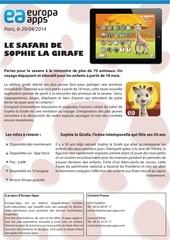 Fichier PDF safari de sophie la girafe communique de presse