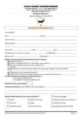bulletin adhesion club ban 2014 copy