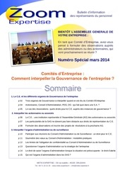 bulletin info metis mars 2014