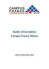 guide cf maroc 2012