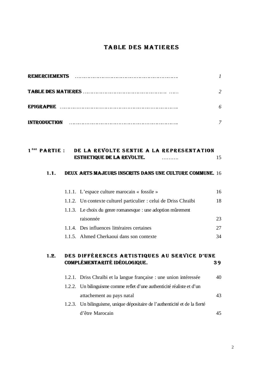passé simple driss chraibi pdf