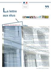 lettre aux elus n 3 prefecture martinique decembre 2013
