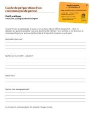 outilpratique guide communique presse
