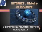 tice internet histoire et structure