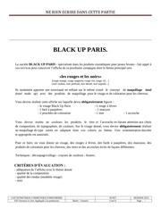 Fichier PDF black up paris pour esth protec