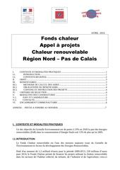 appel a projets fonds chaleur npc 2014