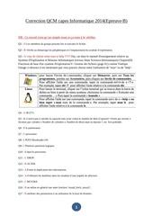 correction qcm capes informatique 2014