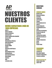 Fichier PDF nuestros clientes