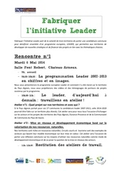 programme fabriquer l initiative leader 1