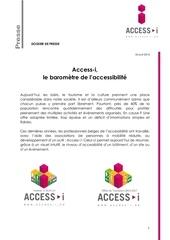 14 04 18 access i dossier presse 18 avril