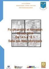 Fichier PDF dossier presse forum emploi sarrians