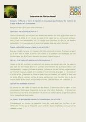 interview de florian morel 1