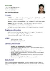 Fichier PDF lucas cv