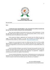 newsletter french mars avril 2014