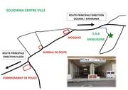 plan atelier carte de visite