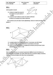 serie graphe